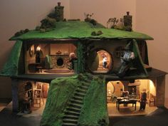 12th scale Hobbit Hole created by KastleKelm