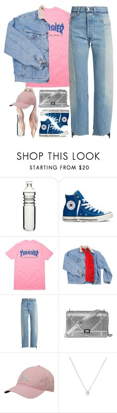 """Lookin' Lookin'"" by oh-aurora ❤ liked on Polyvore featuring Dot & Bo, Converse, Vetements, adidas and Tiffany & Co."