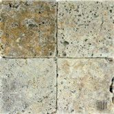 Found it at Wayfair - Tuscany Scabas 6'' x 6'' Tumbled Travertine Tile in Tumbled Yellow