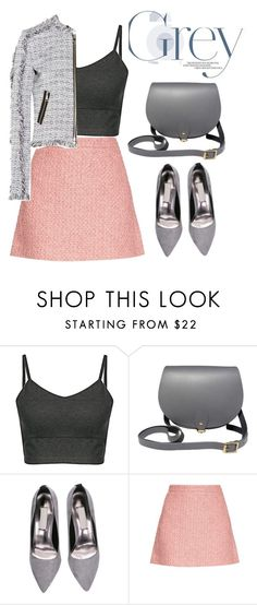"""""""Untitled #175"""" by jovana-p-com ❤ liked on Polyvore featuring N'Damus, Gucci and Karl Lagerfeld"""