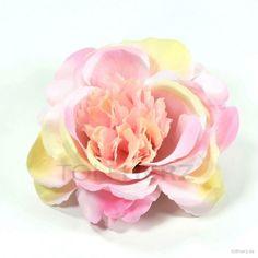 """Ansteckrose, Haarrose in pastellfarben, Modell """"Englische Rose"""""""