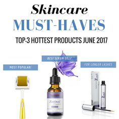 We have listed the three hottest and trending beauty products for June 2017. Do you want to feel beautiful without make-up? No problem!
