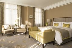The grand hotel, located on Park Lane across from Hyde Park, has played host to a variety of high profile events like last year's Q Awards