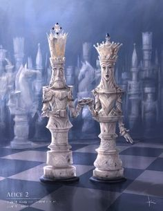 Chess King And Queen, Queen Chess Piece, King Queen, Chess Piece Tattoo, Chess Set Unique, Creation Art, Kings Game, Arte Disney, Arte Horror