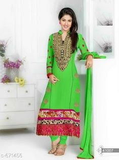 0692c916f3 Party wear Suits   Dress Materials  Rs.1009 - free COD WhatsApp +