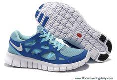 443816-444 Tide Pool Blue Mega Blue Pure Platinum Womens Nike Free Run 2 Outlet