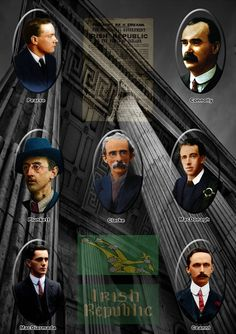 Leaders of the 1916 Rebellion