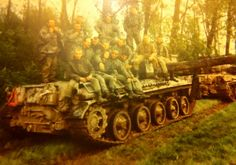 French AMX-30 tank.