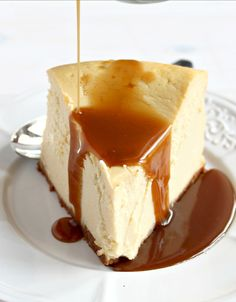 Skinny Brown Sugar Vanilla Cheesecake: would you believe that this decadent cheesecake is actually good for you?