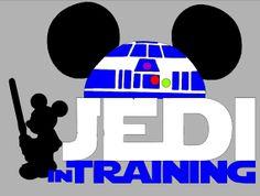 Disney Star Wars Jedi Shirts by WhitefishCreations on Etsy, $24.00