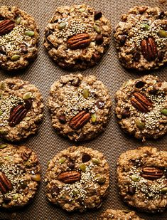 NUTTY VEGAN BREAKFAST COOKIES » The First Mess // Plant-Based Recipes + Photography by Laura Wright