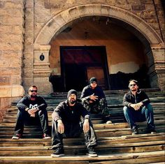 Ghost Adventures: Billy, Aaron, Zak and Jay.
