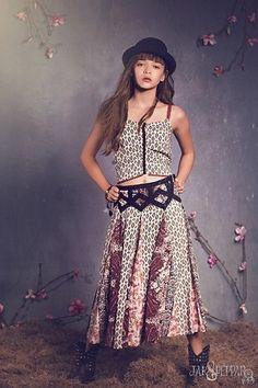 Jak & Peppar Sun Gypsy Blackberry Coronado Maxi Skirt