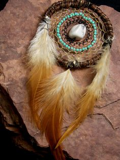 Healing Boho Dream Catcher Necklace or by GratefullyDreaming #dreamcatcher