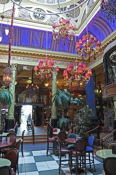 Cafe Vaudeville in Belfast.My favourite place to dance in BELFAST.