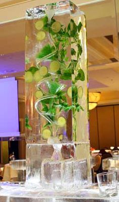 Mojito Ice Luge- MUST HAVE AT OUR WEDDING!