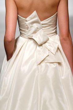 Amsale Lauren Gown back