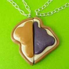PB & J Friendship Necklaces