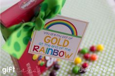 Happy St. Patrick's Day printable collection from Lauren McKinsey :: gift tags