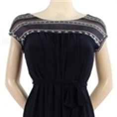 Mama Gracie's Pregnancy Shop & Spa > d&a™ Judy nursing shift dress with sash, sleeveless