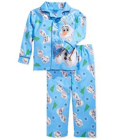 Frozen Toddler Boys' 2-Piece Olaf Pajamas