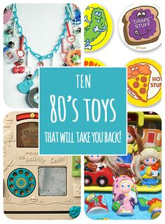 10 Toys from the 80's that will take you back!
