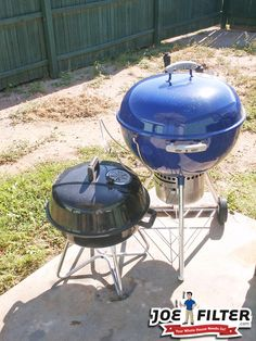 Charcoal grills can reach higher temps which makes them great for shearing meat. #BBQTips