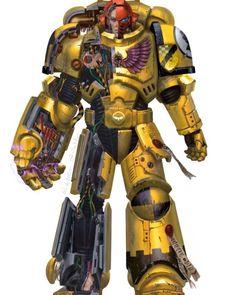 Warhammer 40k Art, Warhammer Models, Armor Concept, Concept Art, Sci Fi Tv Series, Deathwatch, Imperial Fist, Sci Fi Armor, Geek Art
