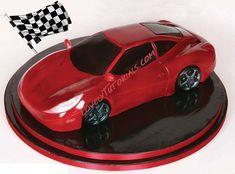 Ferrari Racing Car сake tutorial