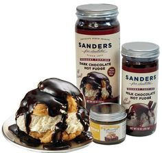 I love Sanders Hot fudge cream puff. 50 things to do in Michigan