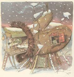 το Μαγικό Γάντι,παραδοσιακό ουκρανικό παραμύθι(υλικό και δραστηριότητες) Mittens, Fairy Tales, Winter, Illustration, Blog, Fictional Characters, Offices, Google, Speech Language Therapy