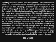 Ira Glass to New Artists