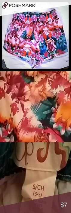 shorts waterproof swim shorts, no liner inside small with fun floral print!!! these also work for exercise shorts of just a fun patterned short with a tshirt in like new conditions op Shorts
