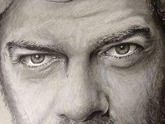 Detail. Pencil,marker. Illustration.