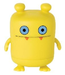 A cute UglyDolls action figure