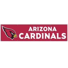 Party Animal Arizona Cardinals 8-foot Nylon Banner