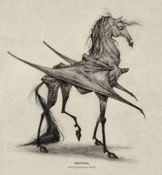 Thestral M.O.M. Classification XXXXThestrals are by far my favorite creatures from the Potter world- equal parts metal and poetic. Very 'Four Horsemen of the Apocalypse' like. I've been meaning to draw more in this series before November when Fantastic Beasts and Where to Find Them comes out- so lets see how many more I can get in! I have a Doxy coming soon, but leave suggestions in my inbox or when you reblog for which I should design next! :DSpring is here is Michigan, and it has me in a