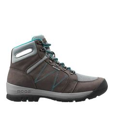 Pewter Bend Leather Hiking Boot - Women
