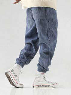 ChArmkpR Mens Solid Color Corduroy Drawstring Waist Elastic Ankle Casual Pants is warm, see other men pants on NewChic. Fashion Pants, Mens Fashion, Fashion Outfits, Cheap Cardigans, Themed Outfits, Mens Clothing Styles, Hippy, Drawstring Waist, Mens Suits