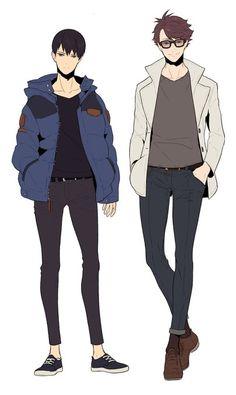 oikawa and kageyama