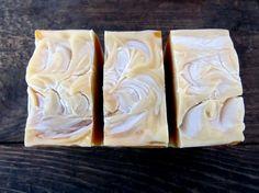 Lemon Drop Soap: Essential oil soap vegan soap by BubbleandFlameNH