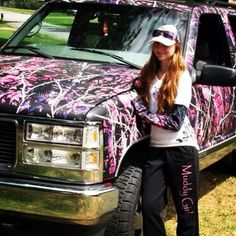And for the Ladies! #MuddyGirl wraps at www.CamoMyRide.com #Camomyride