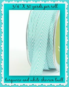 "Ribbon for your best crafting & sewing projects! This is 3/4"" x 30 yards per…"