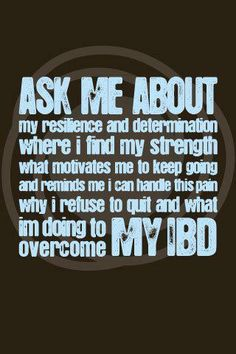 May 19th is World IBD Day, http://healthaware.org/category/2012/17-may-2012/ for link to more information.*