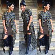 Top Ten Creative Ankara Styles You Should Try In 2017  Dabonke