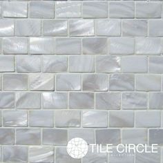 Mother Of Pearl White X Minibrick Subway Tile