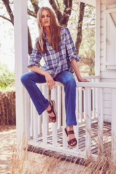 Aneta Pajak Wears Relaxed Style in Massimo Dutti's June Lookbook - Fashion Gone Rogue