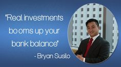 Bryan Susilo channelized his time and energy in accomplishment the necessary skills for identical. He was stunned at having seen before the immense amount of wealth the property/real estate business could turn out for someone and he then set on achieving identical for himself.