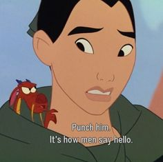 Mushu...he always gives such spectacular advice :) <- I usually try to change my comments, but that was spot on @Leah Balster :)