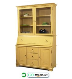 Swedish-Yellow-Cabinet